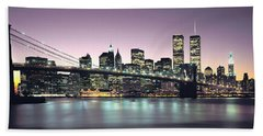 New York City Skyline Hand Towel