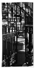 New York City Wrought Iron Hand Towel by Rona Black