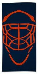 New York Islanders Goalie Mask Hand Towel