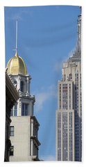 Bath Towel featuring the photograph New York New York by Ira Shander
