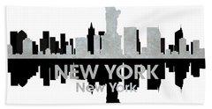 New York Ny 4 Hand Towel