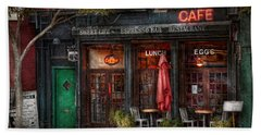New York - Store - Greenwich Village - Sweet Life Cafe Hand Towel