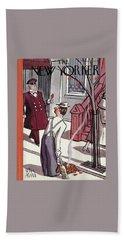 New Yorker October 29th, 1938 Bath Towel