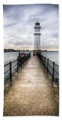 Newhaven Lighthouse Bath Towel