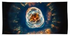 Ngc 2392, Eskimo Nebula, Optical Hand Towel