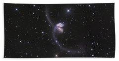 Ngc 4038-4039, Interacting Galaxies Hand Towel