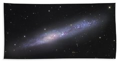 Ngc 55, Irregular Galaxy In Sculptor Hand Towel