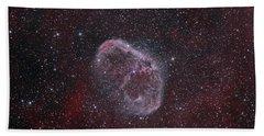 Ngc 6888, The Crescent Nebula Hand Towel