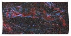 Ngc 6960, The Western Veil Nebula Hand Towel