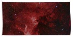Ngc 7000, The North America Nebula Hand Towel