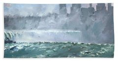 Niagara  Falls Mist  Hand Towel