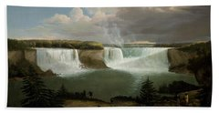 Niagra Falls By Alvan Fisher Hand Towel