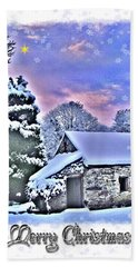 Christmas Card 27 Bath Towel by Nina Ficur Feenan