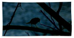 Night Bird Hand Towel