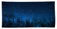 Night Stars Hand Towel