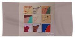 Nine Ladies Lolling Hand Towel by Susan Williams