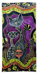 Nine Lives     Bath Towel