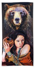 Nine Stars Woman - Bear Medicine Hand Towel
