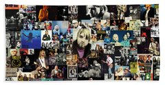Nirvana Collage Hand Towel