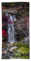 Bath Towel featuring the photograph Nishi No Taki by Sebastian Musial