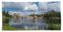 Sylvan Lake South Dakota Bath Towel
