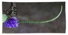 Butterfly - Tailed Jay II Bath Towel