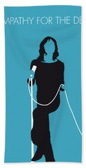 No005 My The Stones Minimal Music Poster Hand Towel