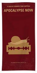 No006 My Apocalypse Now Minimal Movie Poster Hand Towel