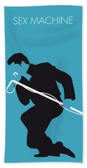 No018 My James Brown Minimal Music Poster Hand Towel
