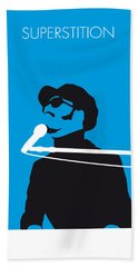 No039 My Stevie Wonder Minimal Music Poster Bath Towel