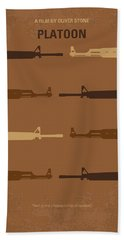 No115 My Platoon Minimal Movie Poster Hand Towel