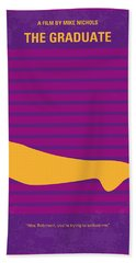 No135 My The Graduate Minimal Movie Poster Hand Towel