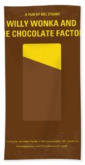 No149 My Willy Wonka And The Chocolate Factory Minimal Movie Poster Hand Towel