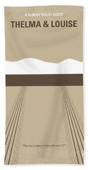 No189 My Thelma And Louise Minimal Movie Poster Hand Towel