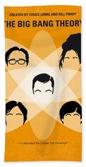 No196 My The Big Bang Theory Minimal Poster Bath Towel