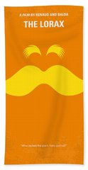 No261 My The Lorax Minimal Movie Poster Bath Towel