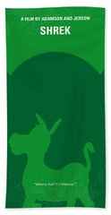 No280 My Shrek Minimal Movie Poster Bath Towel