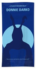 No295 My Donnie Darko Minimal Movie Poster Bath Towel