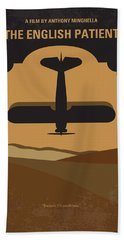 No361 My The English Patient Minimal Movie Poster Hand Towel