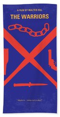 No403 My The Warriors Minimal Movie Poster Hand Towel