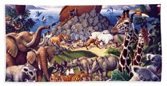 Noah's Ark Bath Towel