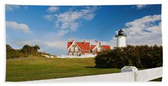Nobska Point Lighthouse Hand Towel
