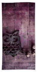 Nocturnal In Pink Hand Towel by Priska Wettstein