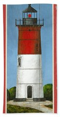 North American Lighthouses - Nauset Bath Towel