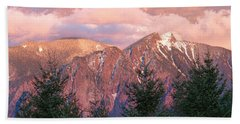 North Bend Washington Sunset 2 Hand Towel