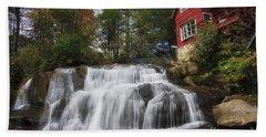 North Carolina Waterfall Hand Towel
