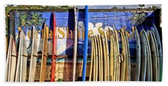 North Shore Surf Shop Hand Towel