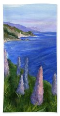 Northern California Cliffs Hand Towel