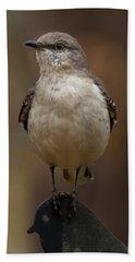 Northern Mockingbird Hand Towel