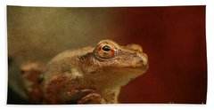 Northern Spring Peeper Hand Towel